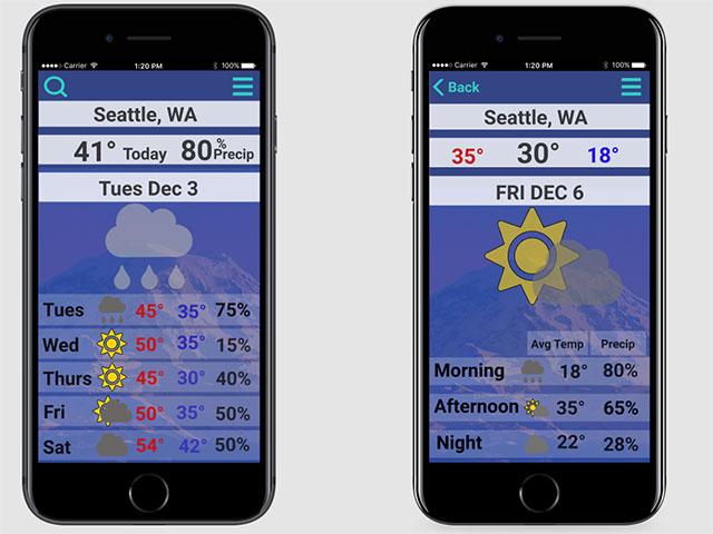 weather app proto